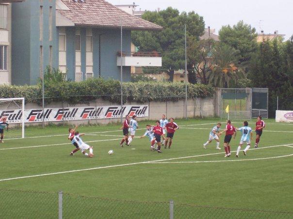 Uno scorcio della gara Porto d'Ascoli-Ripa