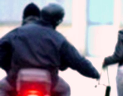 rapina in moto