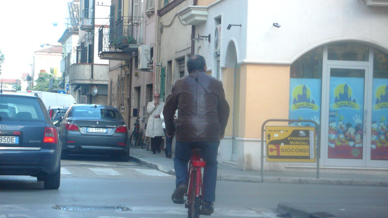 Un incrocio in via San Martino