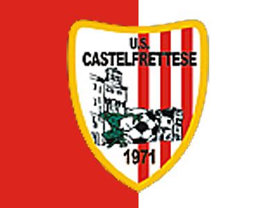 Lo stemma della Castelfrettese