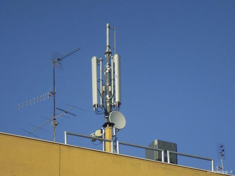L'antenna di via Roma