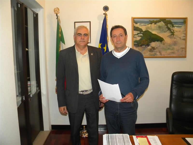 Camillo Ciaralli e Pasqualino Piunti