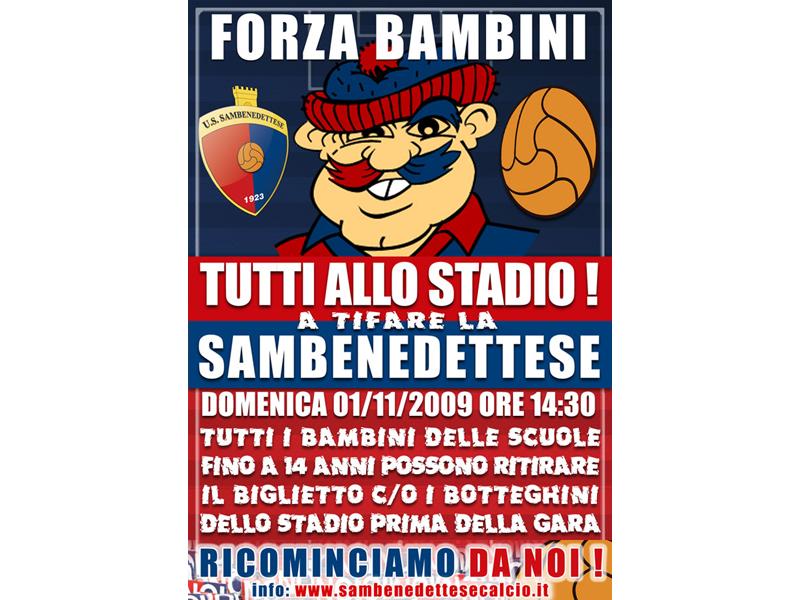 Samb-Montegiorgio, Forza Bambini!