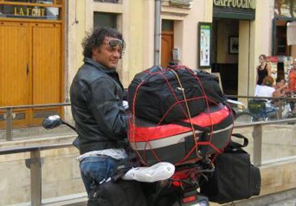Fabrizio Vitelli in una foto del suo profilo Facebook