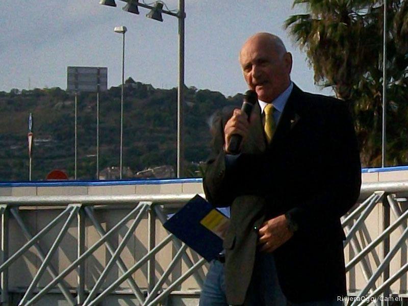 Il presidente del CONI per la Provincia di Ascoli Piceno, Aldo Sabatucci