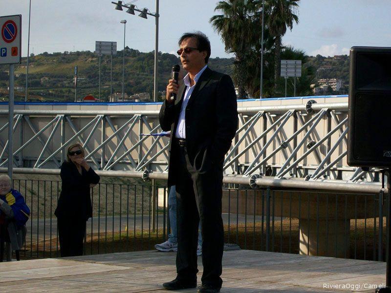 Marino Marini, presidente della società ciclistica Perla dell'Adriatico