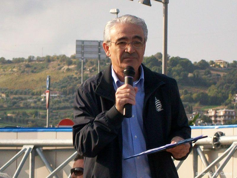 Da appassionato di ciclismo, il presentatore giornalista Marcello Iezzi