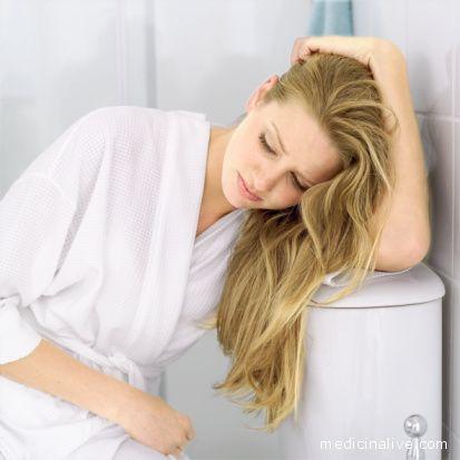 Una non regolare funzionalità intestinale può causare malessere generale.