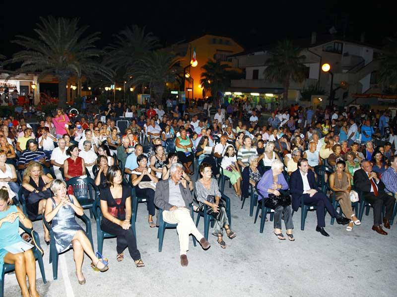 La serata di premiazione della prima edizione del Concorso letterario internazionale Città di Martinsicuro