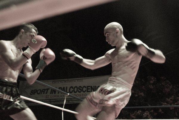 Roberto Palestini, campione italiano di Kick boxing