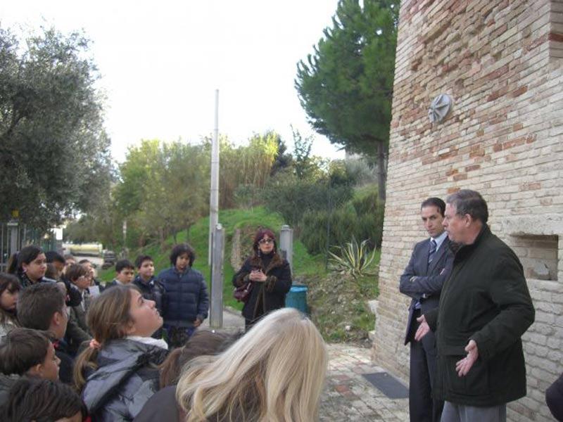 Visita al museo archeologico (foto di Antiquarium di Castrum Truentinum)