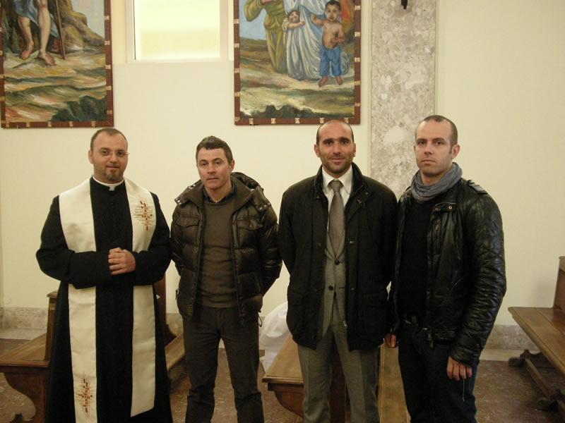 Inaugurati i nuovi dipinti del cimitero di San Benedetto