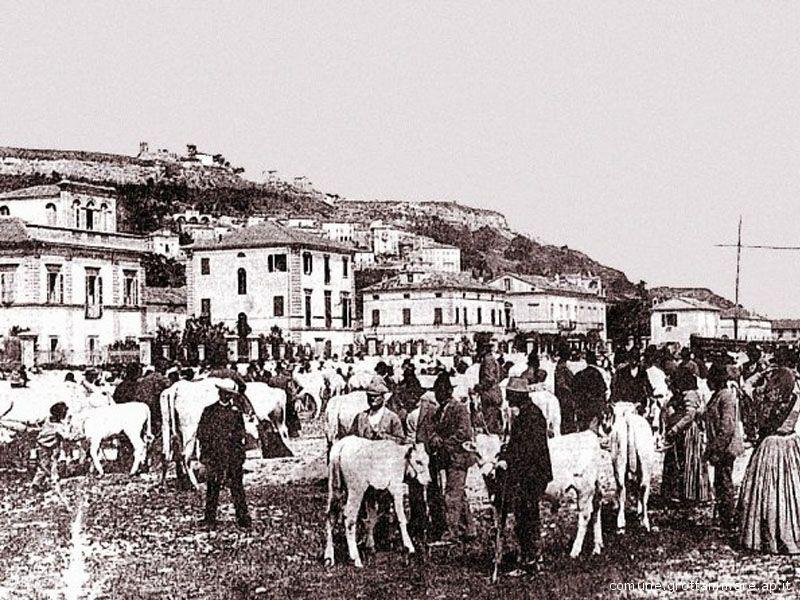La Fiera di San Martino quando era una fiera popolare basata sullo scambio di materie prime e prodotti agricoli con manufatti semilavorati o prodotti finiti