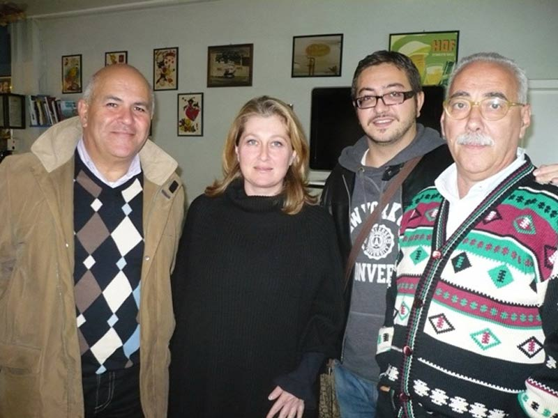 Alcuni esponenti del Pd di Martisicuro: Mauro Paci, Lucia Spedicato, Giuseppe Capriotti e Pietro Dursi