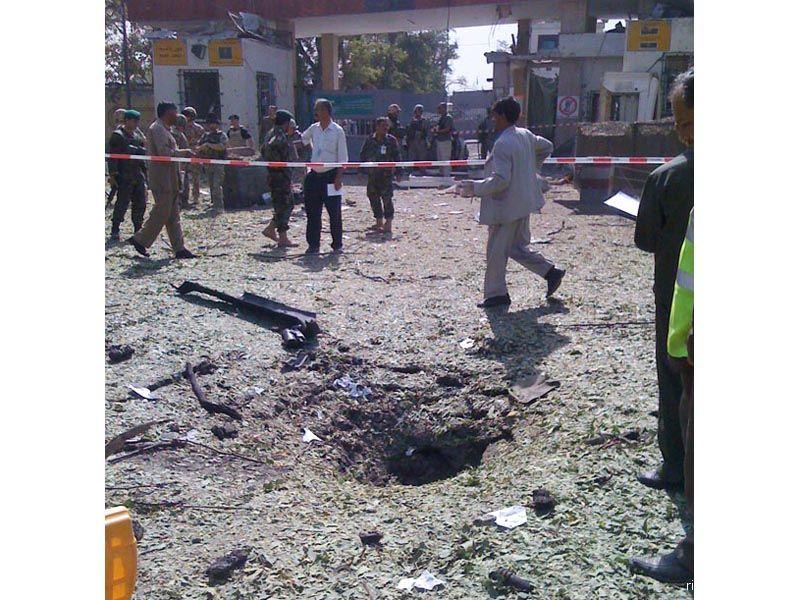 L'attentato alle Forze Isaf dello scorso 15 agosto, a Kabul