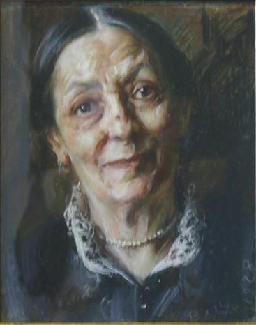 Balla- Ritratto della madre