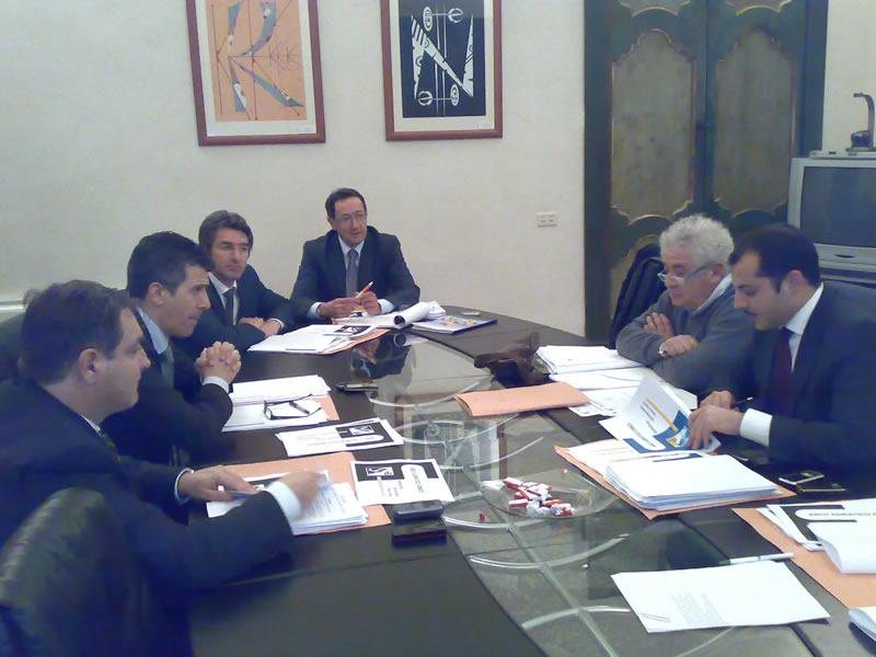 Incontro a Lecce del consiglio di amministrazione dell'Arco Adriatico Ionico