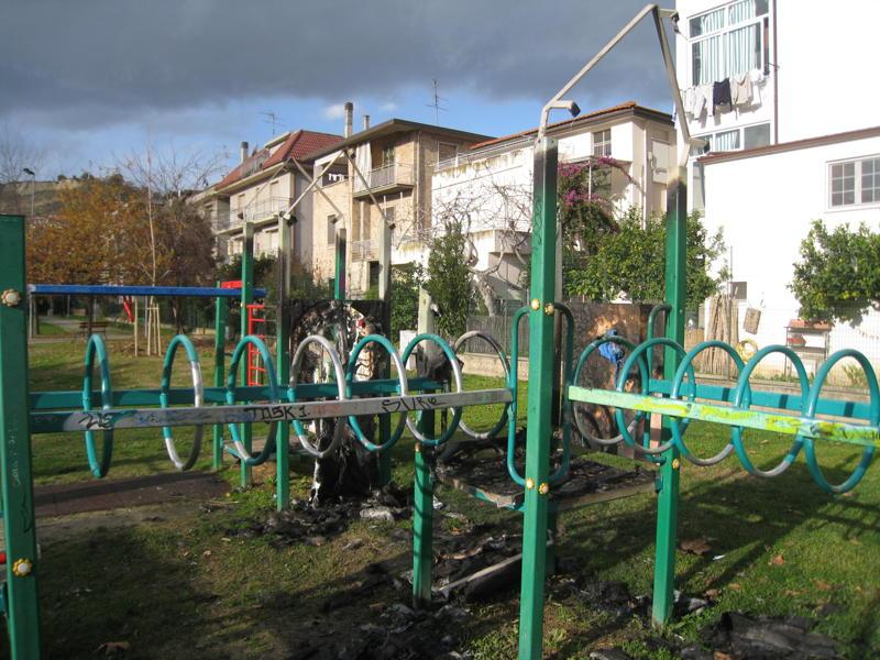 Parco Wojtyla, nuovi atti vandalici