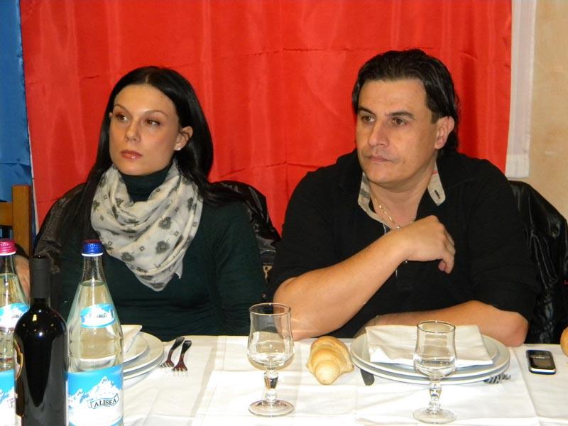 Sergio Spina e consorte
