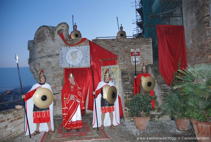 Erode e le guardie romane