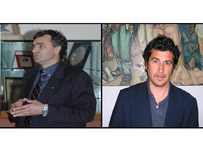 Marco Lorenzetti e Pino Nico dell'Udc