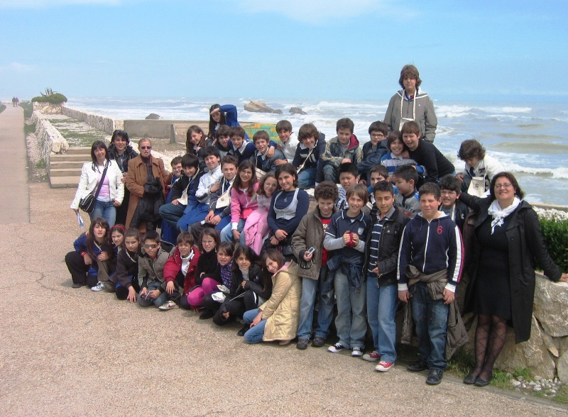 Andare per mare e per monti, le classi di Grottammare e Offida