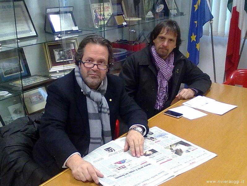Domenico Martinelli e Pierluigi Tassotti
