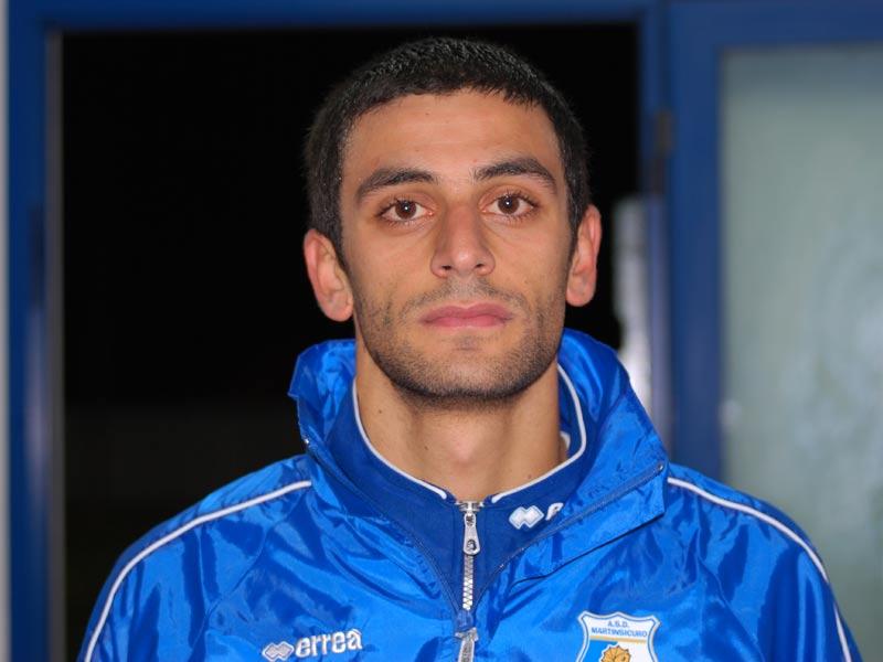 Iacopo Capretta, autore del primo gol al 22' del secondo tempo