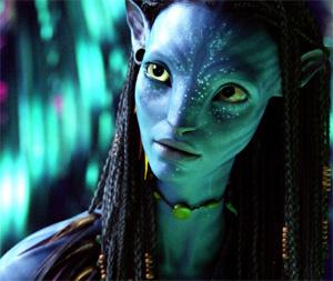 Uno dei personaggi del fantastico mondo di Avatar