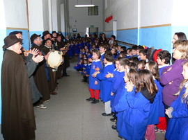 I Cantori di Sant'Antonio nelle scuole