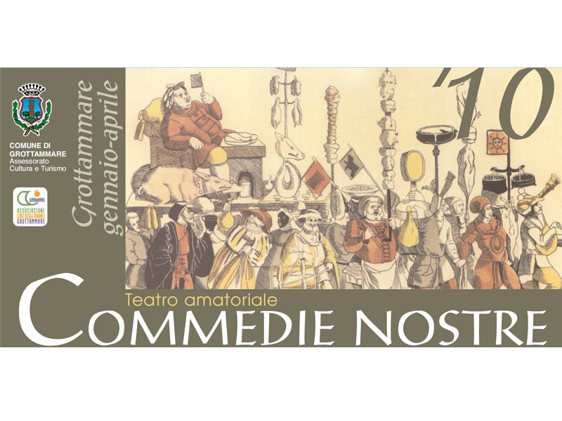 Quinta edizione per il teatro amatoriale  con COmmedie nostre