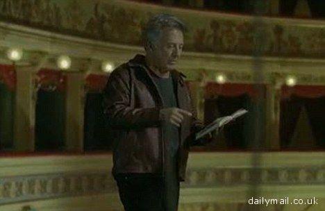 Dustin Hoffman nello spot