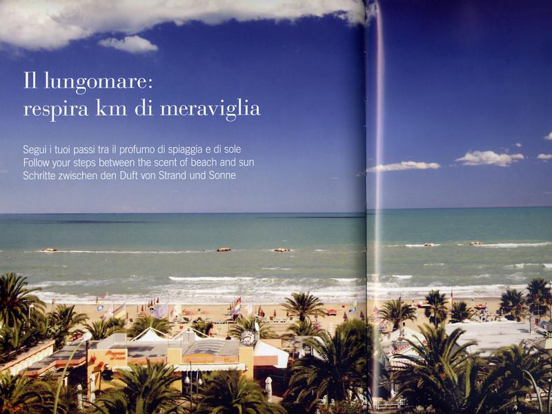Un'emozione visiva dal lungomare dal nuovo catalogo dell'Assoalbergatori Riviera delle Palme
