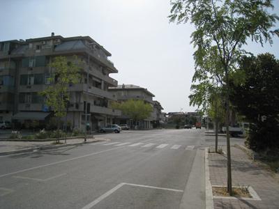 Una via del quartiere Tronto
