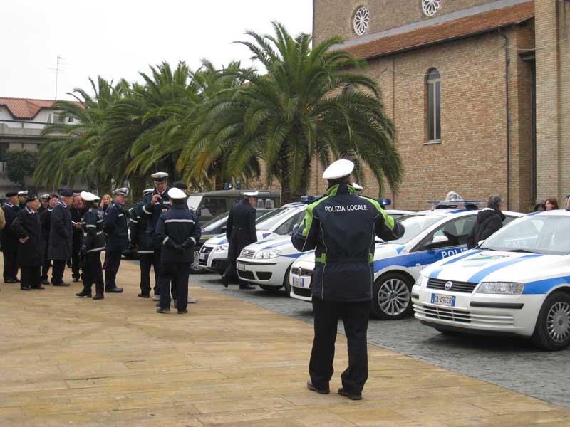 Vigili Urbani in festa per San Sebastiano