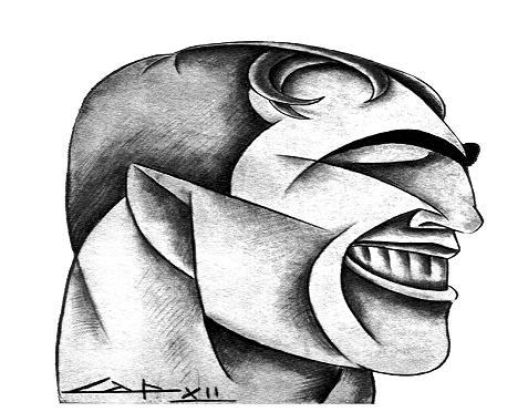 Capponi: ritratto del pugile Primo Carnera