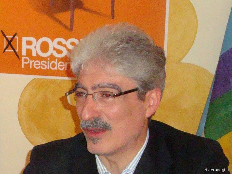 Massimo Rossi durante la campagna elettorale per le Provinciali 2009