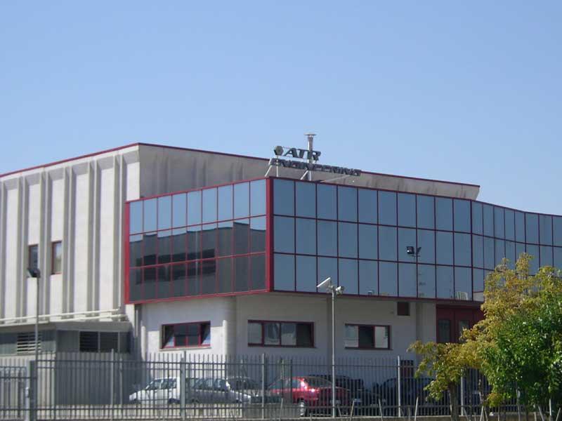 Uno degli stabilimenti Atr