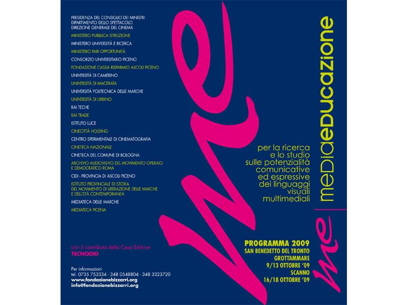 Il logo di MediaEducazione, sezione del Premio Libero Bizzarri