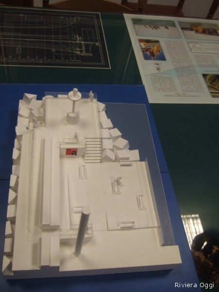 Plastico del progetto di restyling molo Nord