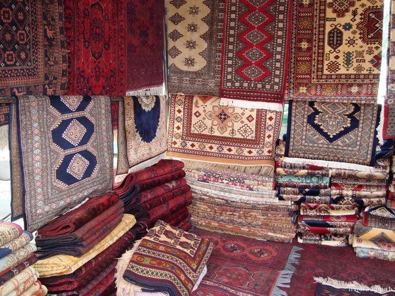 Il negozio di tappeti visitato da Demetrio Ferri nel