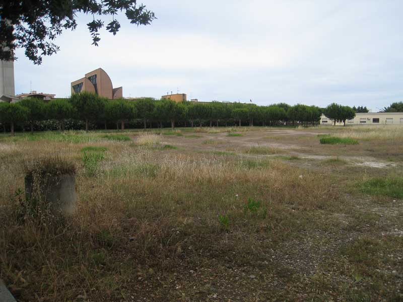 Il terreno di Via Segantini a Villa Rosa