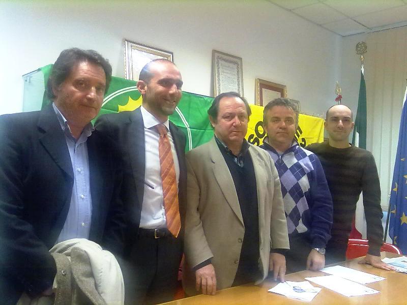 Romano Speca, Paolo Canducci, Juan Behrend, Andrea Marinucci, Daniele Mariani