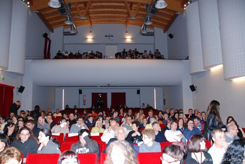 Il Teatro delle Energie prima dello spettacolo