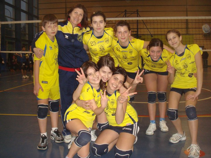 Le ragazze del Torrione Volley under 14