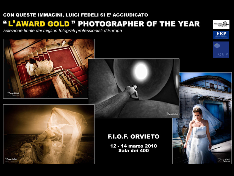 Con queste foto Luigi Fedeli si è aggiudicato l'Award Gold Photographer of the Year