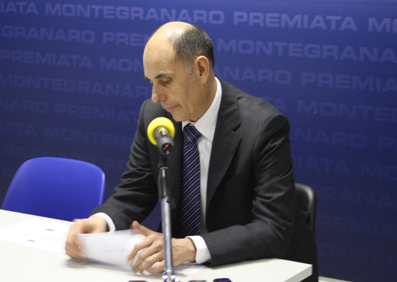 L'allenatore della Vanoli Cremona, Attilio Caja