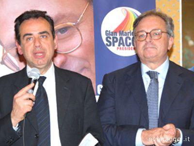 Pietro Colonnella e Gian Mario Spacca