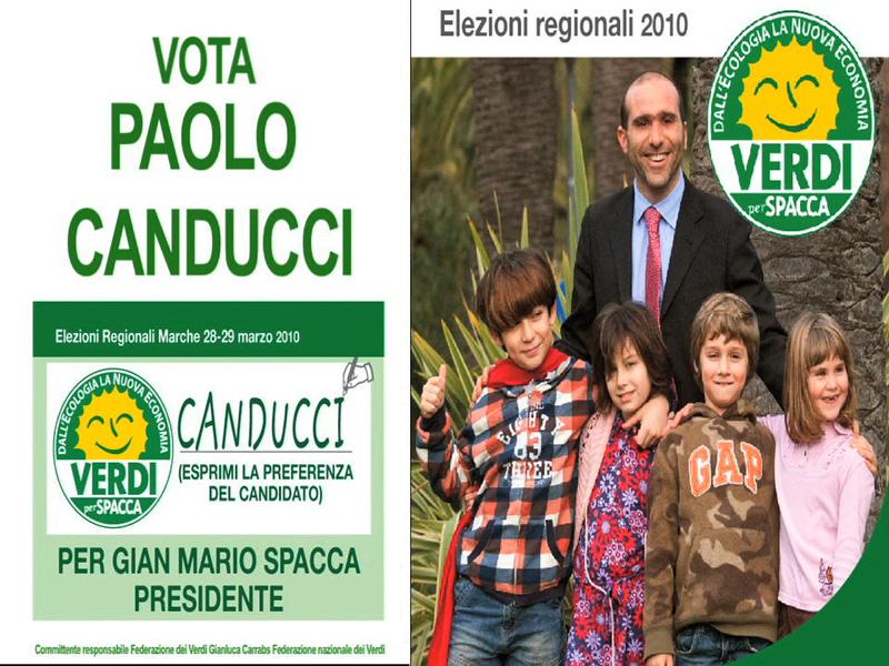 Vota Paolo Canducci per le Elezioni Regionali