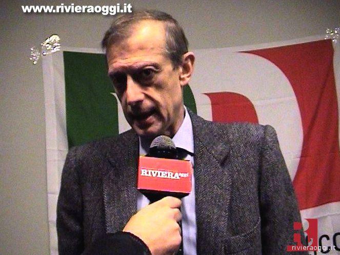 Piero Fassino intervistato da Rivieraoggi.it